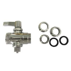 "Adapter Valve Kit - Above Counter In-Line 1/4"" Stop Valve"