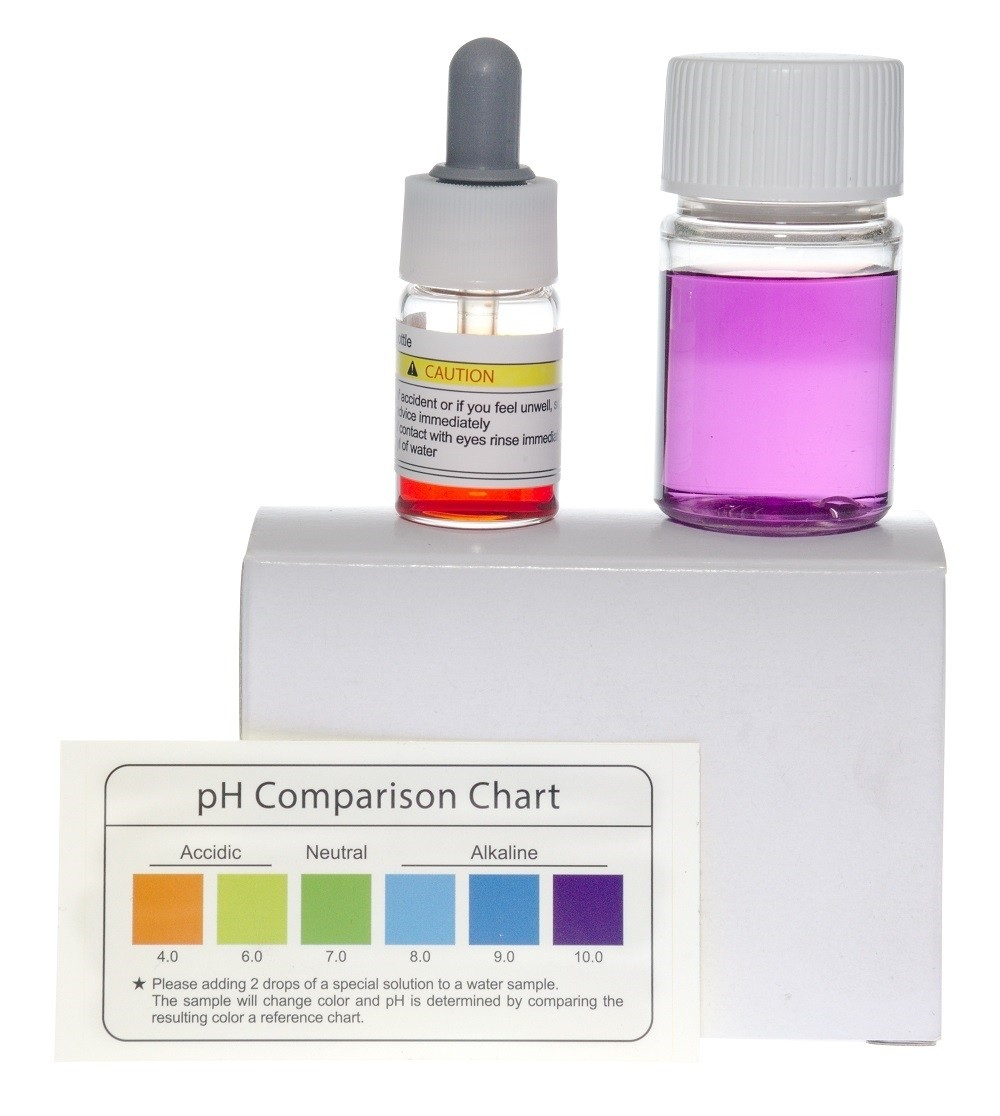 pH Test Kit - White Box