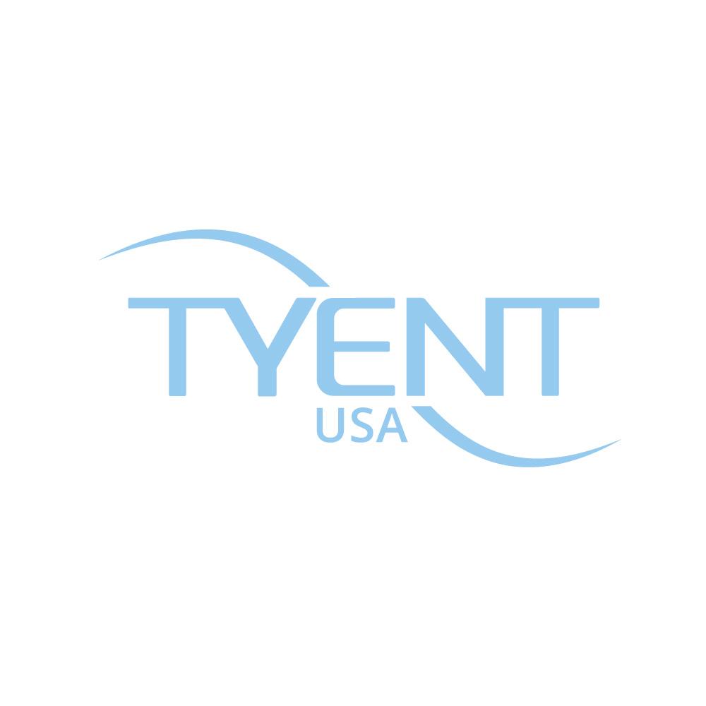Tyent Shower Lux - Chrome & Gray w/ Massage Head