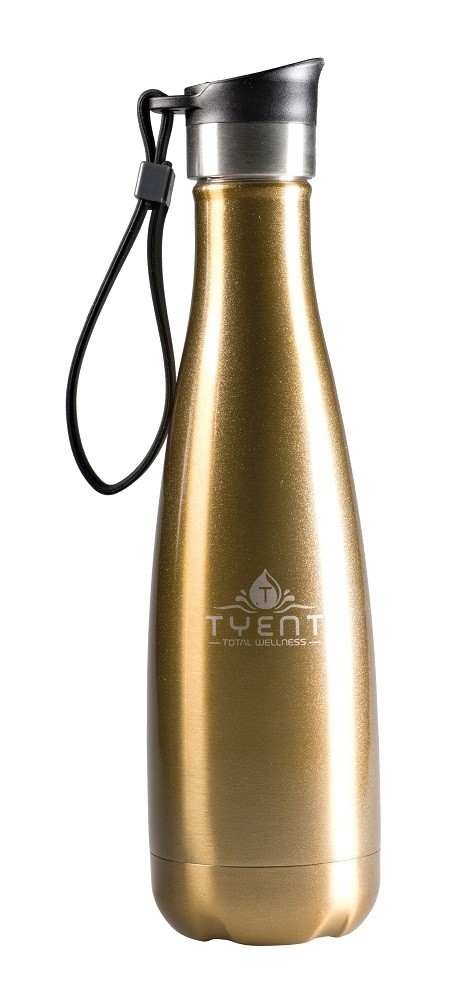 Tyent Contemporary Drinkware - 500ml Gold