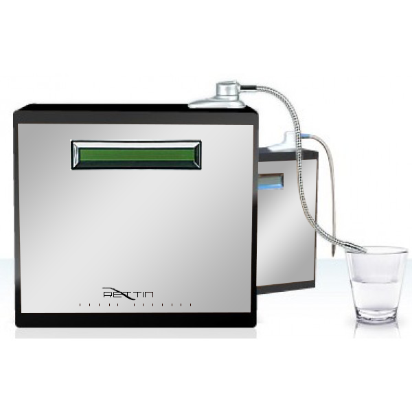 MMP-9090 Turbo Water Ionizer - Stainless & Black Image
