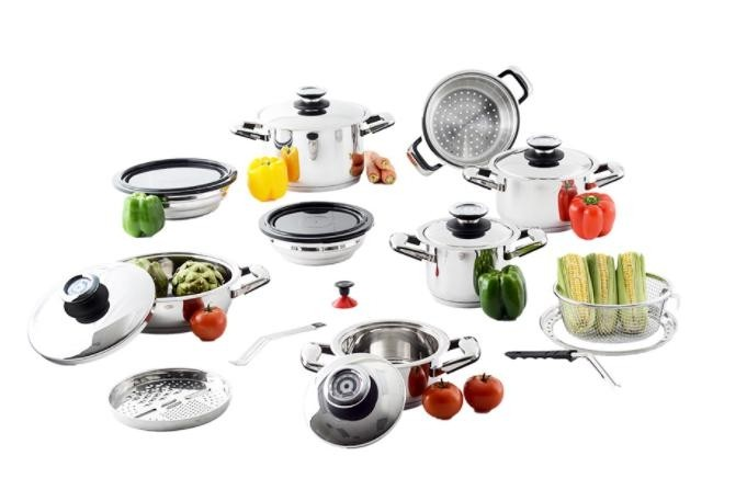 Professional Platinum 21-Piece Cooking System Image