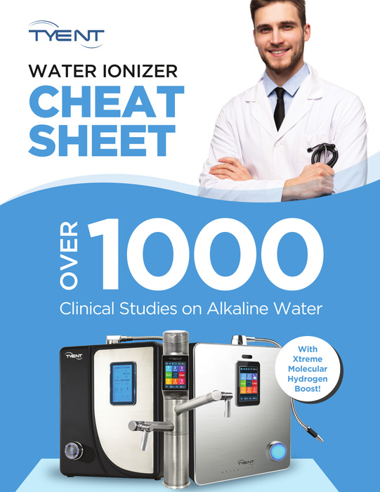 Tyent Water Ionizer Cheat Sheet