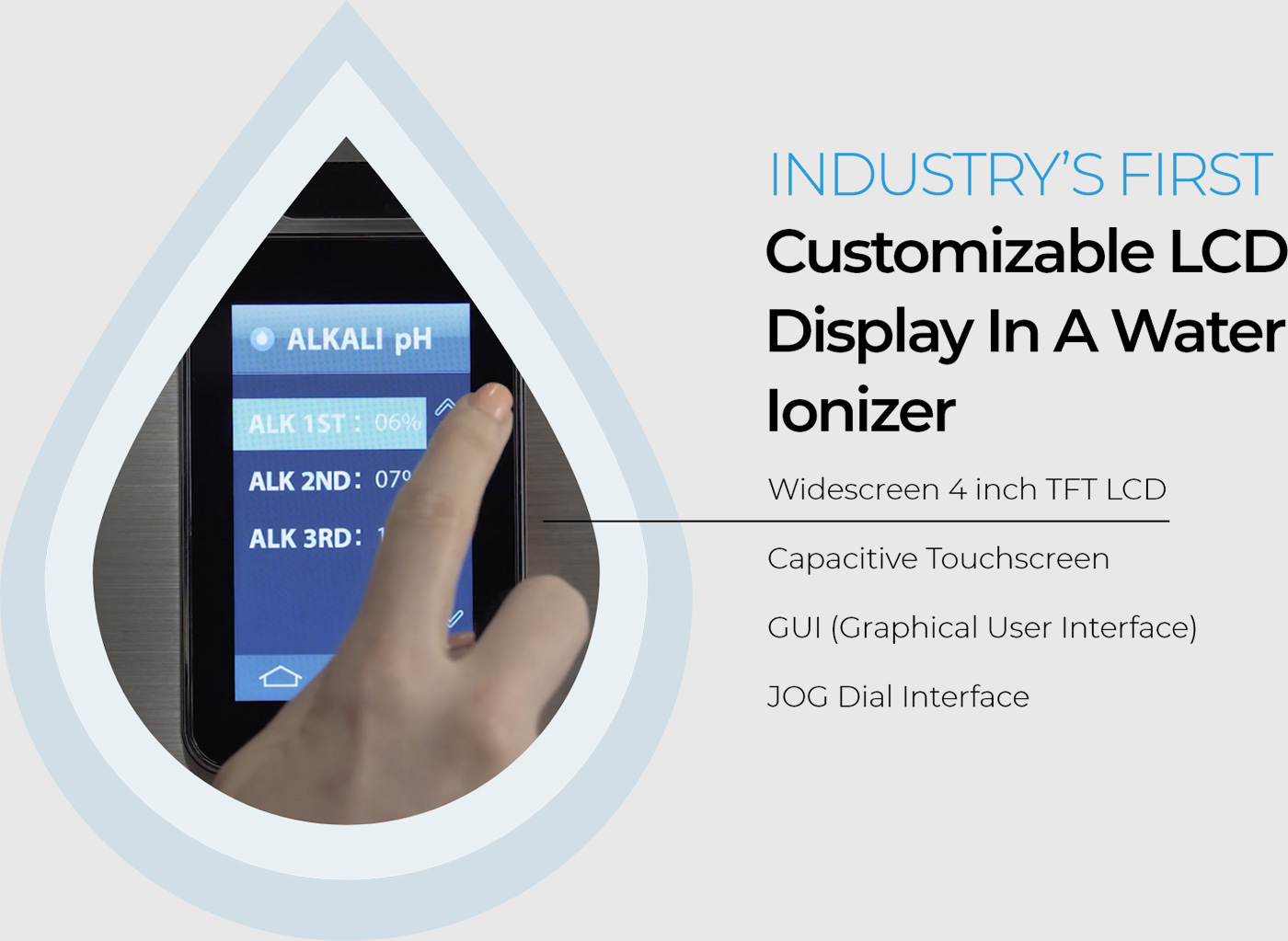 Tyent Ace-13 Industry's First Customizable LCD
