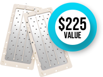 Tyent USA Solid/Mesh Hybrid Plate Upgrade