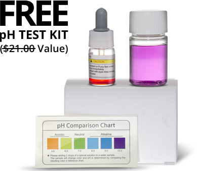 Free pH Test Kit from TyentUSA