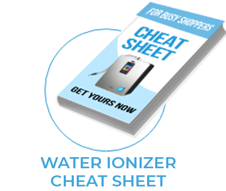 Tyent USA Water Ionizer Cheat Sheet