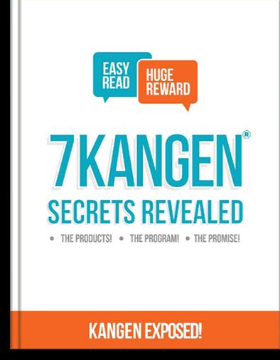 7 Kangen Secrets Revealed Ebook Cover
