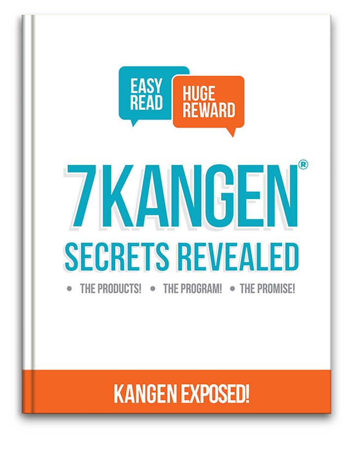7 Kangen Secrets Revealed Ebook cover