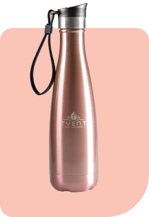 Tyent Drinkware Rose Gold