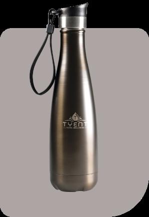 Tyent Drinkware Titanium