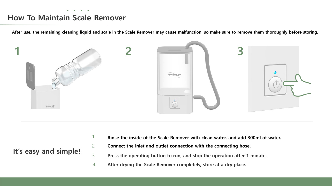 Tyent Scale Remover 13