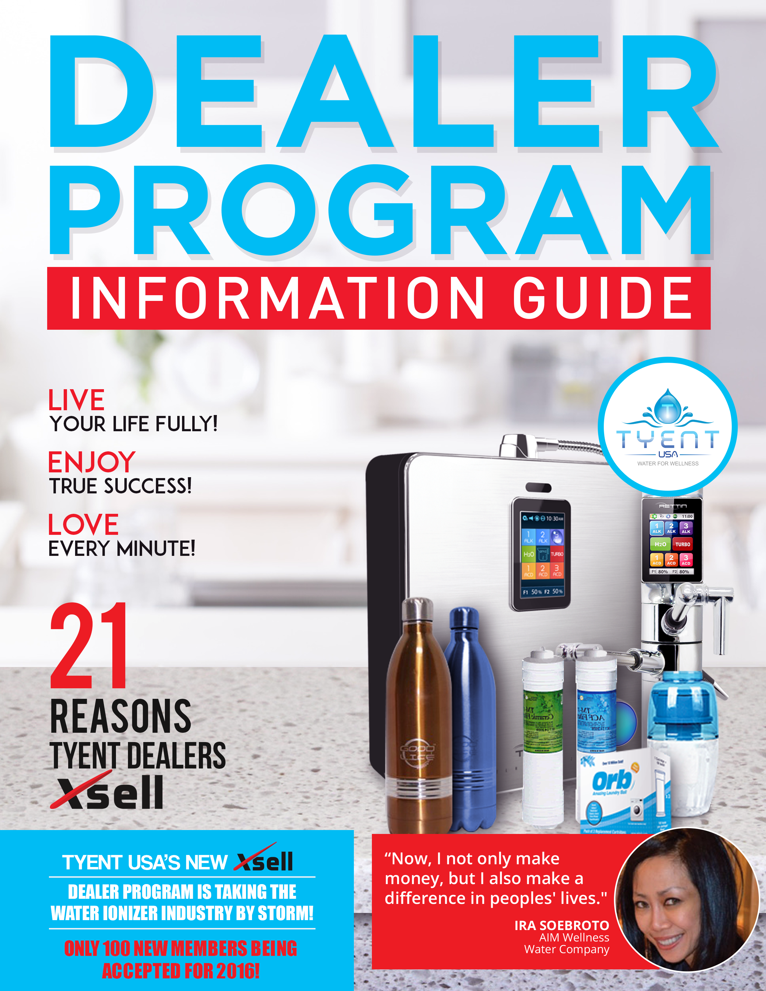TyentUSA Dealer Program guide