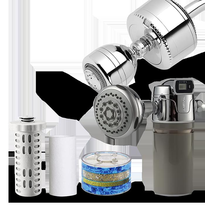 Tyent USA Shower Water Filters