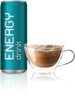 Energy Drink and Coffee