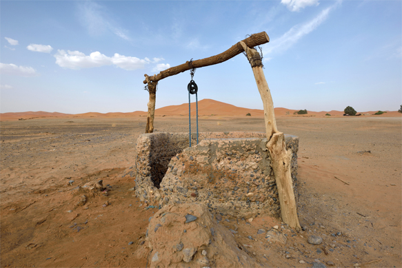 Old Well in the Desert