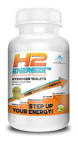 TyentUSA Hydrogen Boost H2 Tablets