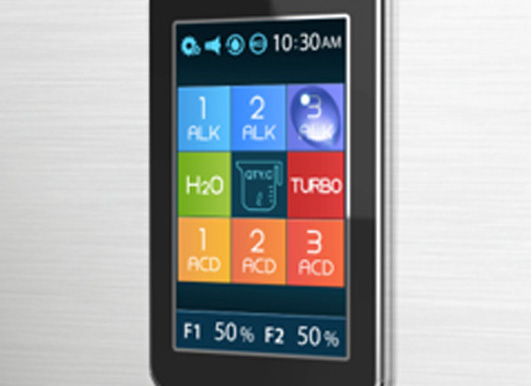 Water Ionizer with Touch Screen Technology