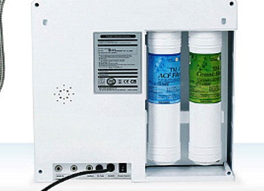 Water Ionizer with Dual Micron Filtration