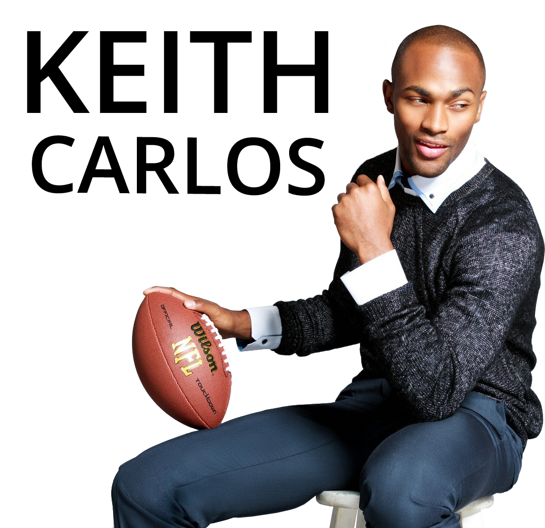 Keith Carlos - model, football player