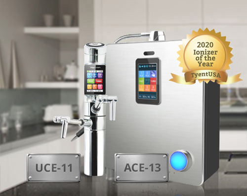ACE-11 and UCE-11 Water Ionizers by Tyent USA