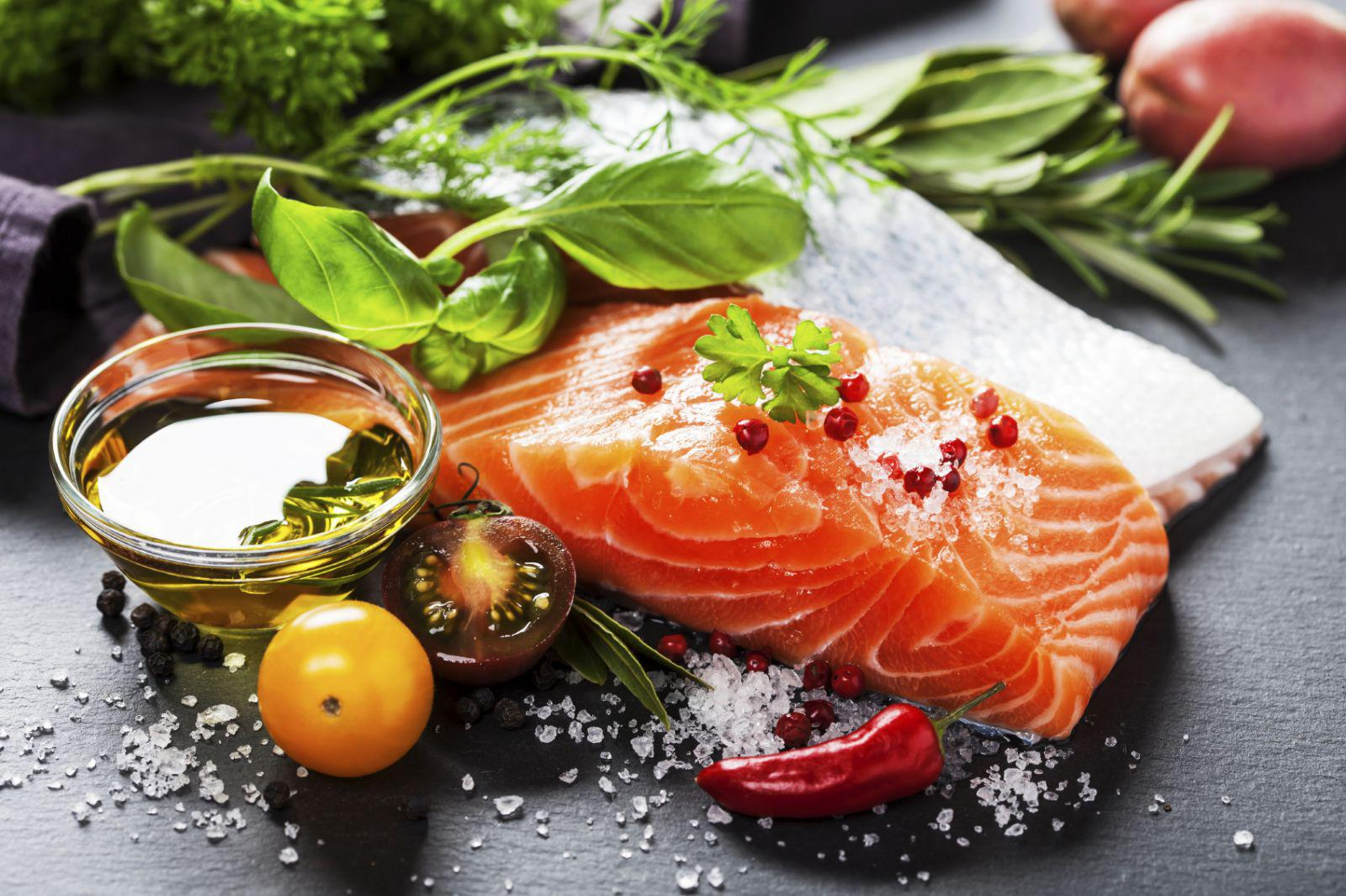 Fish is high in Omega 3 Fat