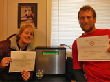 Heather Van Buskirk and Zach Wolf Water Ionizer Testimonial