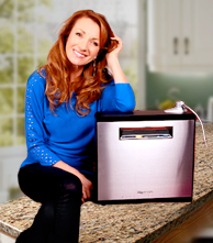 Jane Seymour with Tyent Water Ionizer