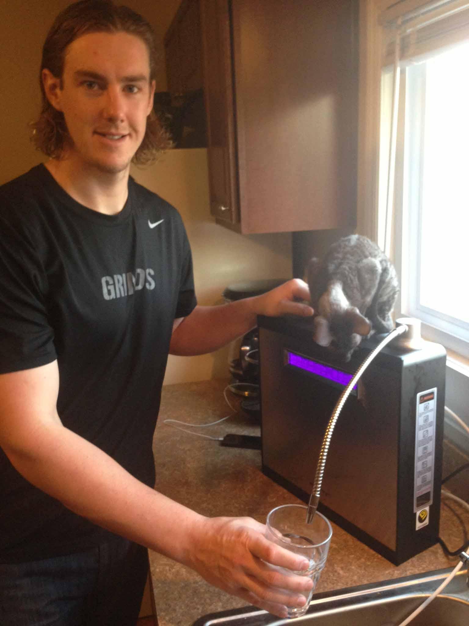 Ryan Buchter Water Ionizer Testimonial